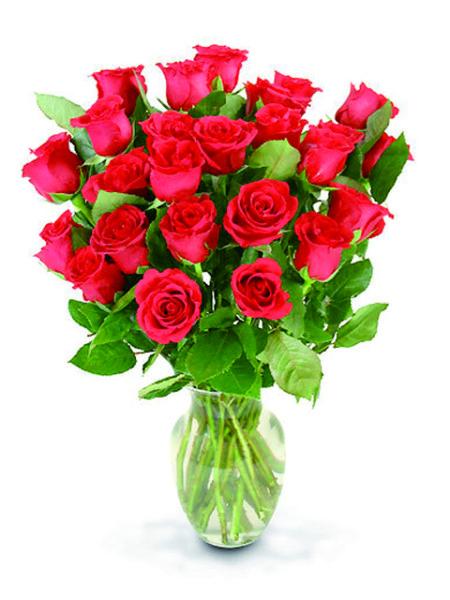 bouquet 24 roselline rosse