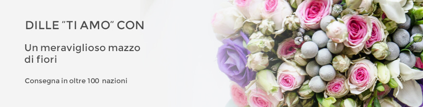 vendita fiori per amore